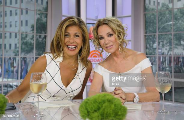 Hoda Kotb and Kathie Lee Gifford on Monday June 5 2017