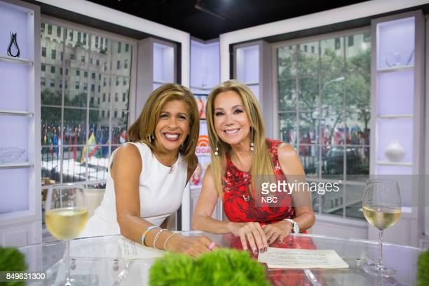 Hoda Kotb and Kathie Lee Gifford on Tuesday September 19 2017