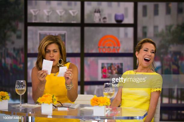 Hoda Kotb and Kathie Lee Gifford on Wedensday July 25 2018