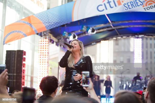 Hoda Kotb and Kelly Clarkson on Friday June 8 2018