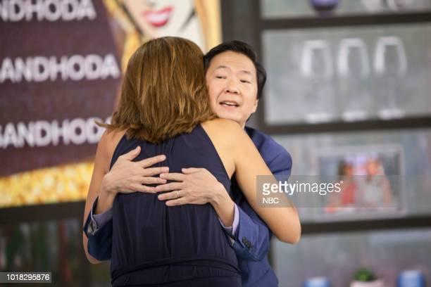 Hoda Kotb and Ken Jeong on Friday August 17 2018