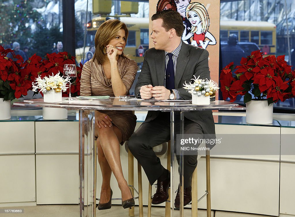 Hoda Kotb and Willie Geist appear on NBC News' 'Today' show --