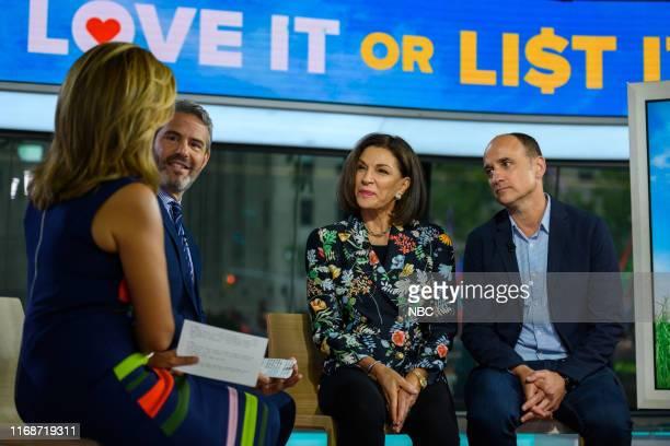 Hoda Kotb, Andy Cohen, Hilary Farr and David Visentin on Monday, September 16, 2019 --