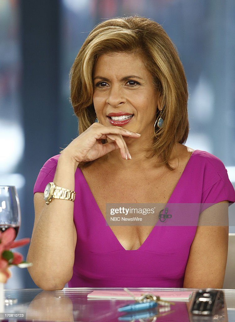 Hoda Kotb appears on NBC News' 'Today' show --