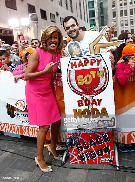 """Hoda Kotb appears on NBC News' """"Today"""" show --"""