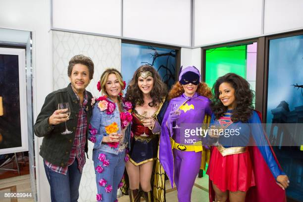 Hoda Kotb as Blake Shelton Kathie Lee Gifford as Miley Cyrus as Miley Cyrus Jenna Bush Hager Dylan Dreyer and Sheinelle Jones on Tuesday October 31...