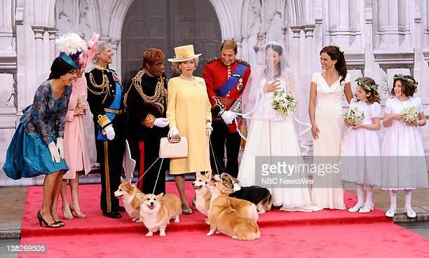 Hoda Kotb as Princess Eugenie Kathie Lee Gifford as Princess Beatrice Savannah Guthrie as Prince Charles Al Roker as Prince Harry Meredith Vieira as...