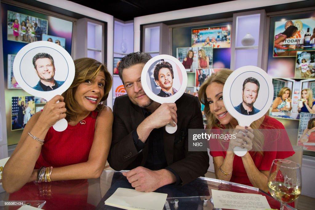 "NBC's ""TODAY"" With guests Blake Shelton, Drew Barrymore, Santa Clarita Diet, Adam Devine"