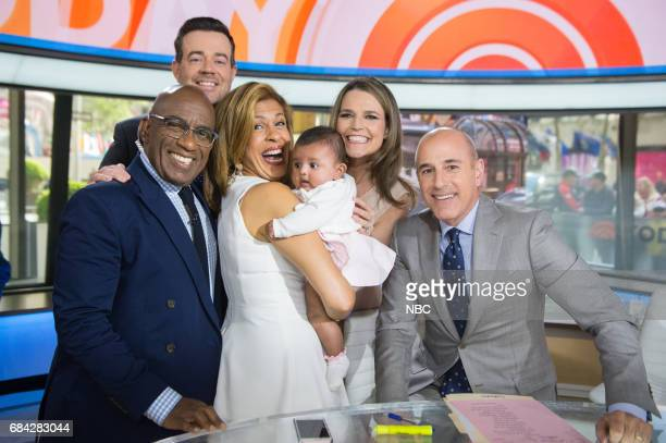 Hoda Kotb brings her daughter Haley Joy on the Today Show on Friday May 12 2017