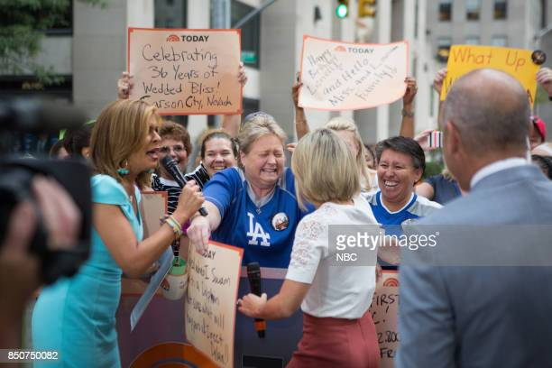 Hoda Kotb Dylan Dreyer and Matt Lauer on Thursday September 21 2017