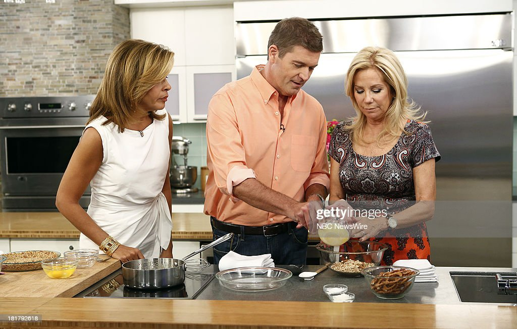 Hoda Kotb, Jamie Deen and Kathie Lee Gifford appear on NBC News' 'Today' show --