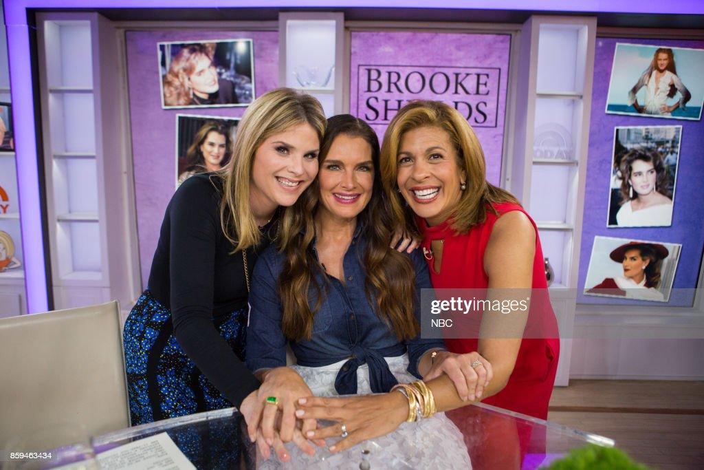 Hoda Kotb, Jenna Bush Hager and Brooke Shields on Friday, October 6, 2017 --