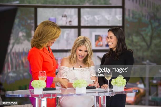 Hoda Kotb Jenna Bush Hager and Donna Farizan on Thursday May 31 2018