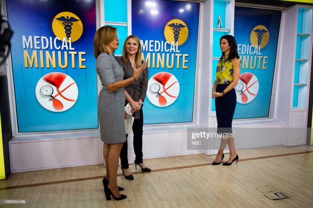Hoda Kotb, Jenna Bush Hager and Natalie Azar on Monday