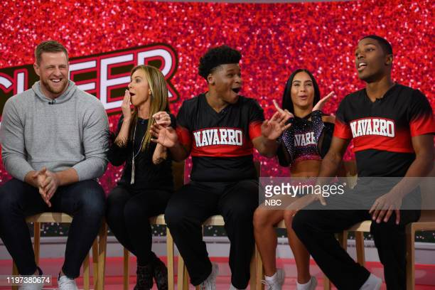 Hoda Kotb Jenna Bush Hager JJ Watt Monica Aldama Jerry Harris Gabi Butler and La'Darius Marshall on Wednesday January 29 2020