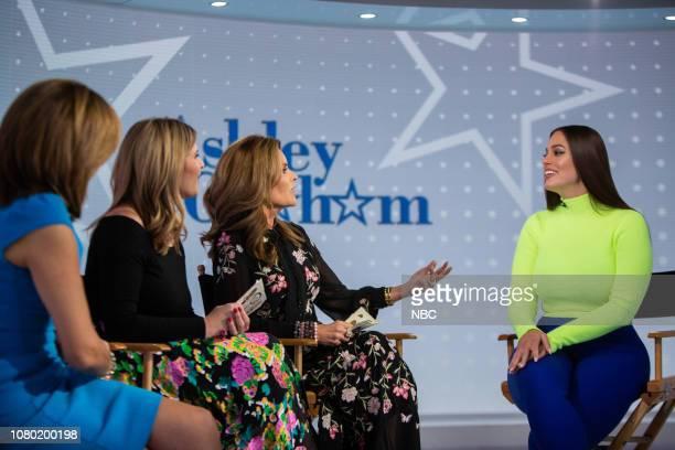 Hoda Kotb Jenna Bush Hager Maria Shriver and Ashley Graham on Wednesday January 9 2019