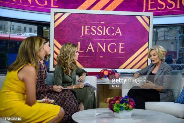 Hoda Kotb, Katherine Schwarzenegger, Maria Shriver and Jessica Lange on Tuesday, October 2, 2019 --