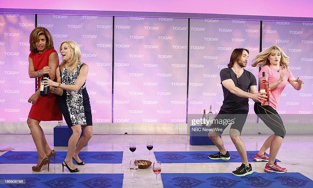 Hoda Kotb, Kathie Lee Gifford, Adam Rosante and Sara Haines appear on NBC News' 'Today' show --