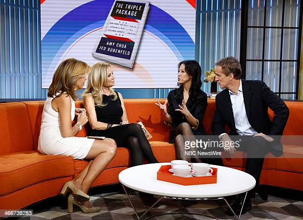 Hoda Kotb Kathie Lee Gifford Amy Chua and Jed Rubenfeld appear on NBC News' 'Today' show