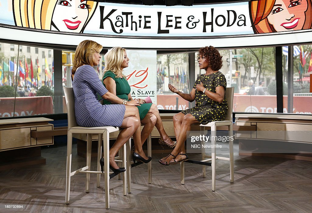 Hoda Kotb, Kathie Lee Gifford and Alfre Woodard appear on NBC News' 'Today' show --