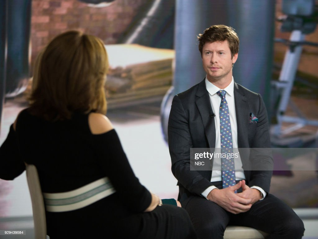 Hoda Kotb, Kathie Lee Gifford and Anders Holm on Thursday, Mar. 8, 2018 --