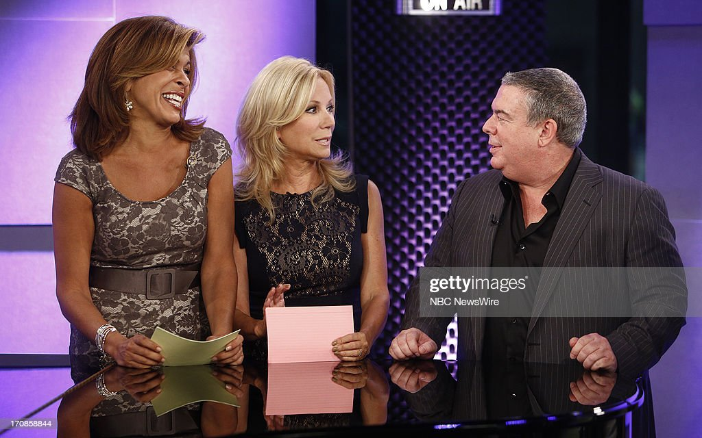 Hoda Kotb, Kathie Lee Gifford and Elvis Duran appear on NBC News' 'Today' show --
