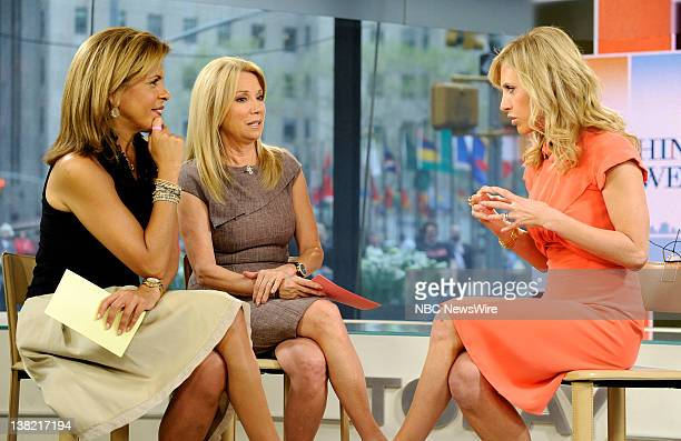 Hoda Kotb Kathie Lee Gifford and Emily Griffin appear on NBC News' Today show