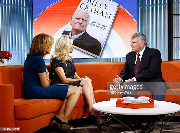 Hoda Kotb Kathie Lee Gifford and Franklin Graham appear on NBC News' 'Today' show