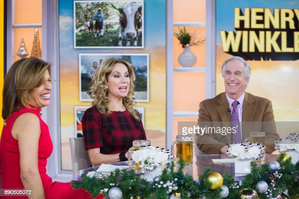 Hoda Kotb Kathie Lee Gifford and Henry Winkler on Monday December 11 2017