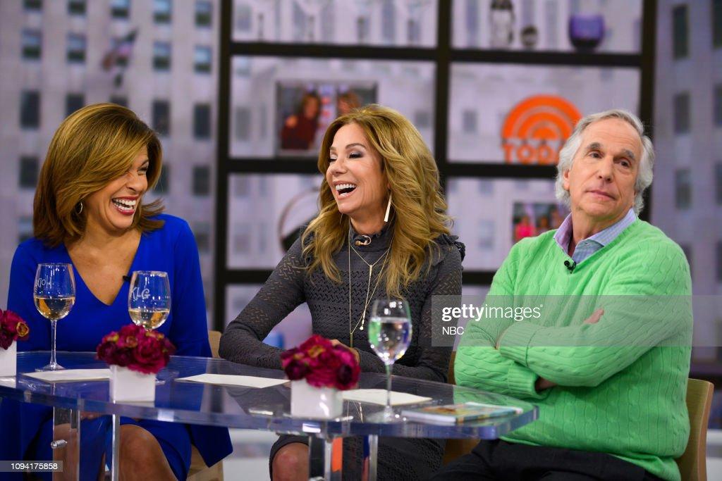 "NY: NBC's ""TODAY"" - Henry Winkler, Sofia Sanchez. Nick Lachey, Justin Chapple"