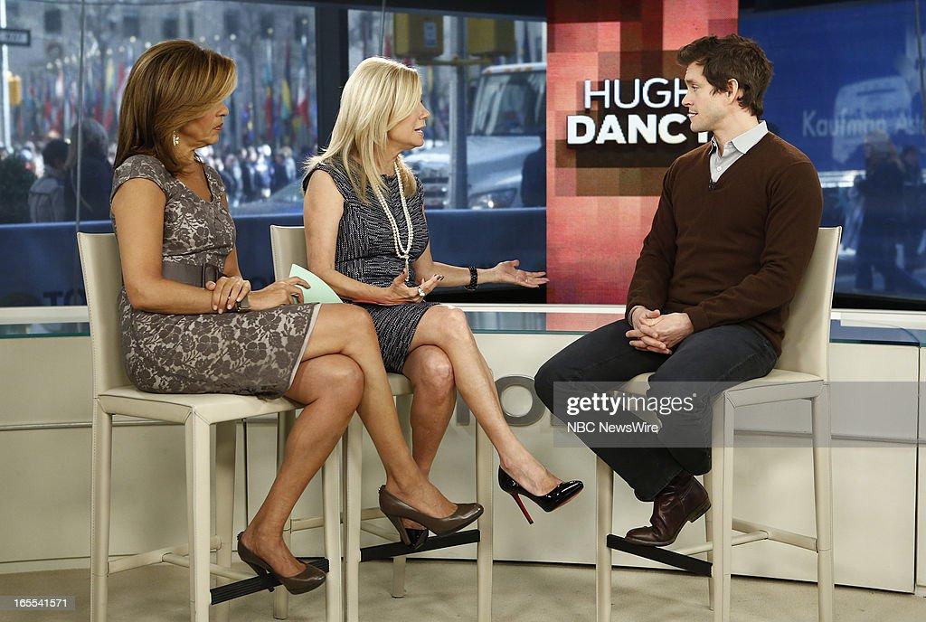 Hoda Kotb, Kathie Lee Gifford and Hugh Dancy appear on NBC News' 'Today' show --