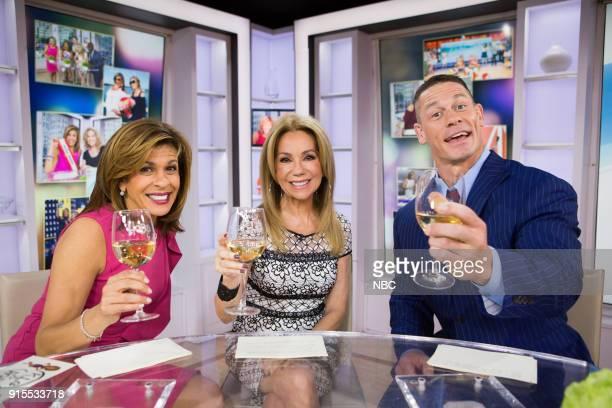 Hoda Kotb Kathie Lee Gifford and John Cena on Wednesday Feb 7 2018