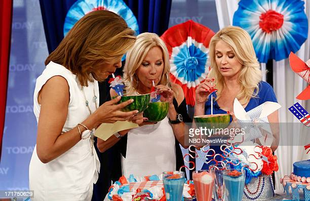 Hoda Kotb Kathie Lee Gifford and Kathy Jacobs appear on NBC News' Today show