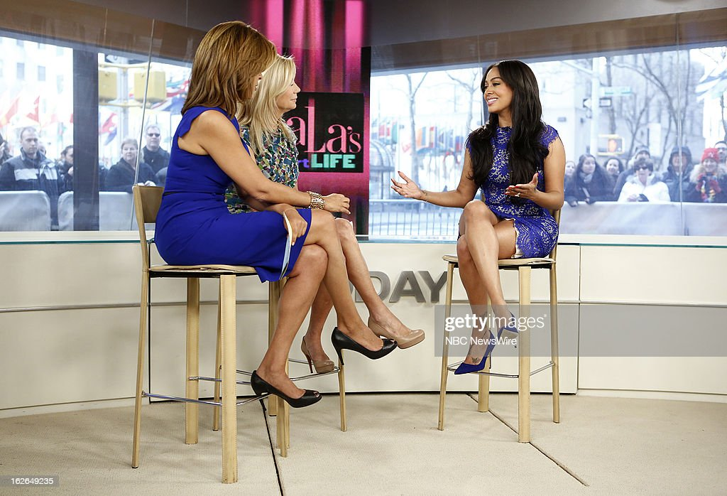 Hoda Kotb, Kathie Lee Gifford and La La Anthony appear on NBC News' 'Today' show --