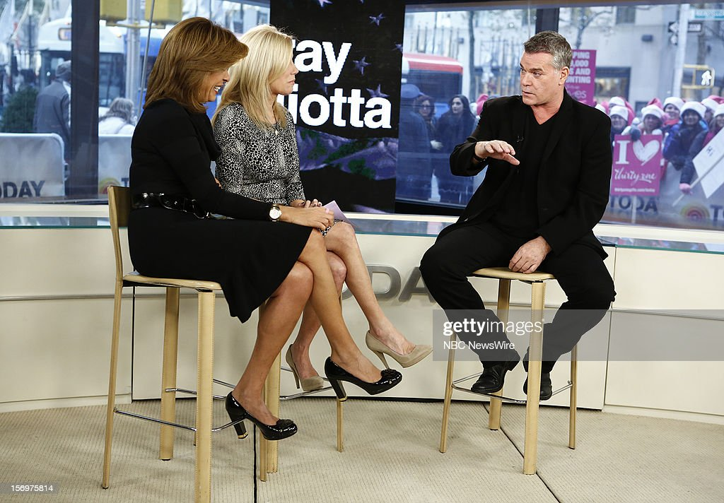 Hoda Kotb, Kathie Lee Gifford and Ray Liotta appear on NBC News' 'Today' show --