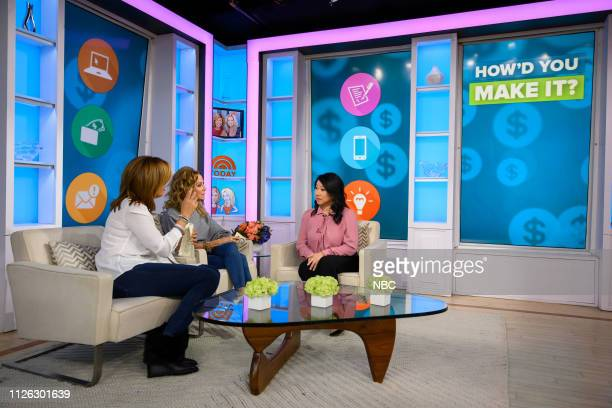 Hoda Kotb, Kathie Lee Gifford and Shan-Lyn Ma on Wednesday, February 20, 2019 --