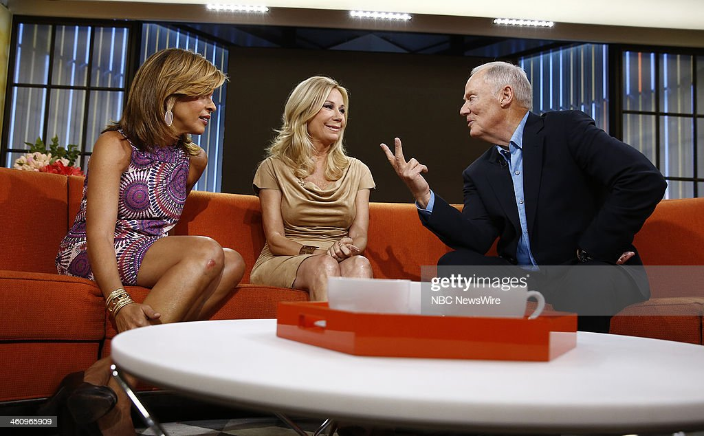 Hoda Kotb, Kathie Lee Gifford and Tommy Barnett appear on NBC News' 'Today' show --