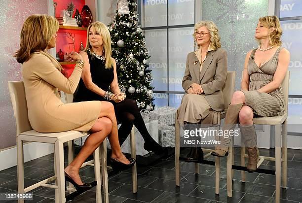 Hoda Kotb Kathie Lee Gifford Blythe Danner and Teri Polo appear on NBC News' 'Today' show
