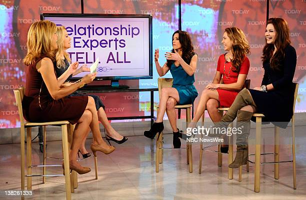 Hoda Kotb Kathie Lee Gifford Emily Morse Amy Laurent and Julia Allison appear on NBC News' Today show