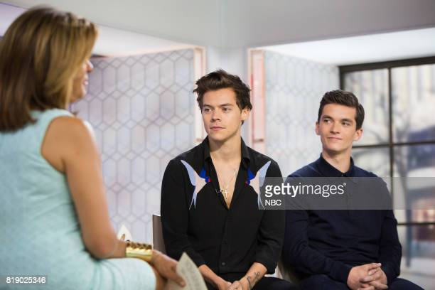 Hoda Kotb Kathie Lee Gifford Harry Styles and Fionn Whitehead on Wednesday July 19 2017