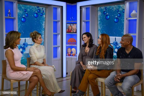 Hoda Kotb Kathie Lee Gifford Hilarie Burton Danneel Ackles and Antwon Tanner on Wednesday November 7 2018