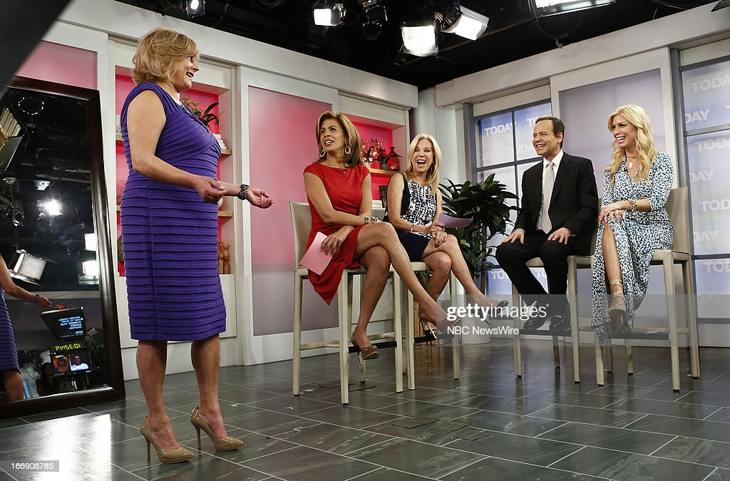 Hoda Kotb, Kathie Lee Gifford, Louis Licari and Jill Martin appear on NBC News' 'Today' show --