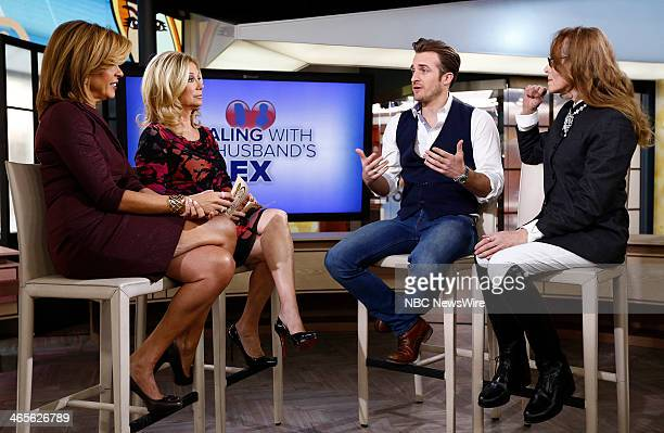Hoda Kotb Kathie Lee Gifford Matthew Hussey and E Jean Carroll appear on NBC News' Today show