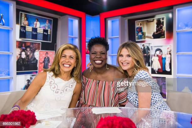 Hoda Kotb Leslie Jones Jenna Bush Hager on Monday June 12 2017