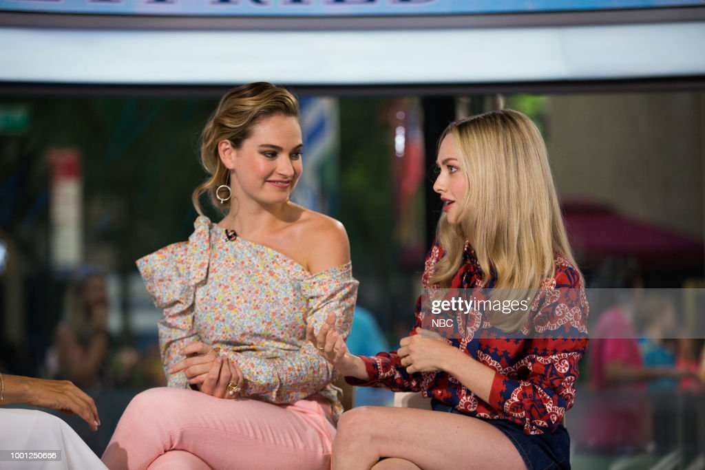 "NBC's ""TODAY"" with guests Kristin Chenoweth, Amanda Seyfried, Lily James, The Alberti Twins, The Grill Dads"