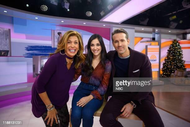 Hoda Kotb, Monica Ruiz and Ryan Reynolds on Thursday, December 12, 2019 --