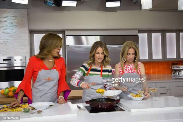 Hoda Kotb Natalie Morales and Kathie Lee Gifford on Monday April 16 2018