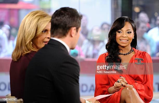 Hoda Kotb Nick Lachey and Ashanti appear on NBC News' Today show