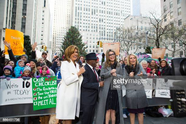 Hoda Kotb Savannah Guthrie Al Roker and Dylan Dreyer on Monday December 4 2017