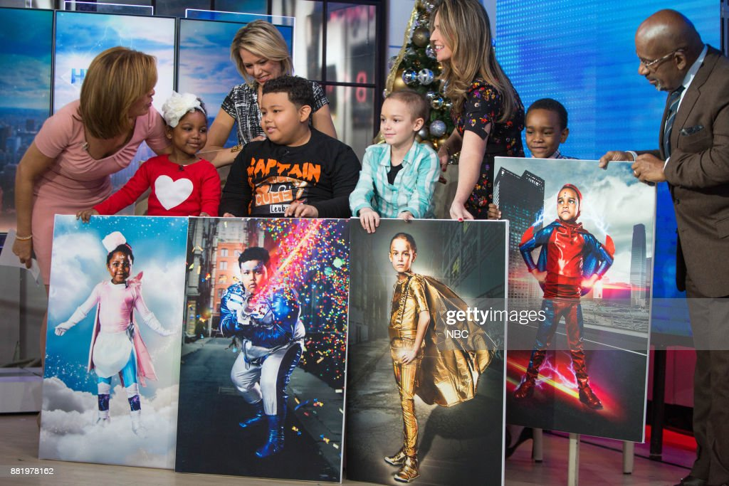Hoda Kotb Savannah Guthrie Al Roker And Dylan Dreyer Surprise Young News Photo Getty Images